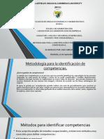 Identificacion y Formulacion de Competencias