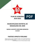 Miguel Venturini Mendoza-Partido Aprista Peruano