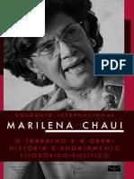 Marilena Chaui o trabalho e a obra