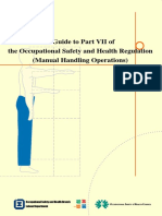 2005-11-24 OSHB - Guide to Part VII of OSH Regs, Manual Handling Operations