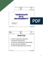 Termografía en El Mantenimiento Ipeman