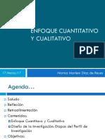Enfoque Cuantitativo y Cualitativo 170317