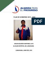 Plan de Gobierno Martinez