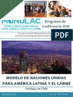 Programa de Monulac 2018