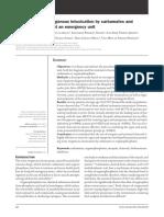 (25!11!15) Artigo Management of Exogenous Intoxication Publicado