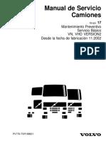 VOLVO - Manual de Servicio de Camiones (108 Pag)