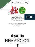 UDAH DIBENERIN [LAGI] Sistem Hematologi-Kel 7.pptx