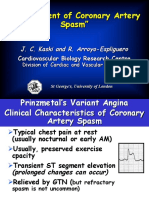Management of Coronary Artery Spasm