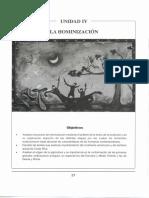 Unidad 4 - La hominizacion.pdf