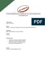 Tarea - Actividad Colaborativa de Investigación Formativa i