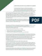 El Retroceso de La Descentralización en El Gobierno de Alberto Fujimori