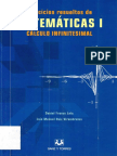 Ejercicios resueltos de matemáticas I. Cálculo infinitesimal - Daniel Franco Leis