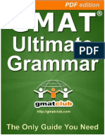 GMAT Grammar Book - Part I