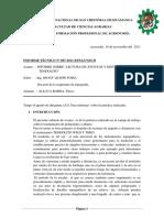 Informe 9levantamiento Con Teodolito de Topografia