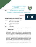 INFORME N° CUATRO DE TOPOGRAFIA.