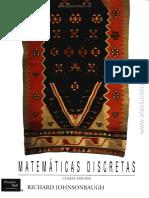 Matematicas Discretas - Jhonsonbaugh - 4ed