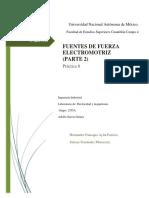 Práctica 8 Electricidad y Magnetismo
