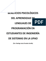 BENEFICIOS PSICOLÓGICOS DEL APRENDIZAJE DE LENGUAJES DE PROGRAMACIÓN EN ESTUDIANTES DE INGENIERÍA DE SISTEMAS EN LA UPAO.docx