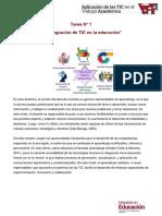TRABAJO 1 Aplicacion de Las Tic en El Trabajo Academico