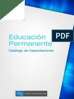 Multimedia Educacion Permanente Catalogo 2015