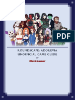 146681 Roundscape Adorevia Unnoficial Game Guide
