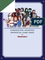 146681 Roundscape Adorevia Unnoficial Game Guide