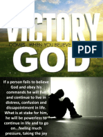 VICTORY COMES  WHEN YOU BELIEVE AND OBEY GOD.pptx