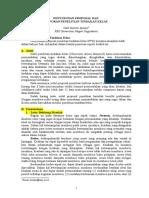 Referensi Outline Proposal Dan Laporan PTK