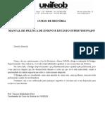 5.Ficha Observação Regência História