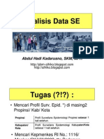 Slide II - Analisis Data Surv Epid - Okt 10