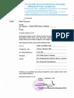 Contoh Surat Dispensasi Kepada Kepala Sekolah Kegiatan Study Banding