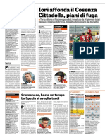 La Gazzetta Dello Sport 16-09-2018 - Serie B - Pag.1