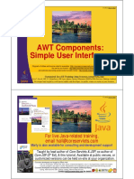 10 AWT Components