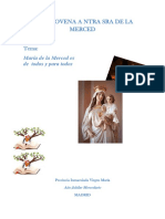 2018- Novena Merced Madrid