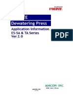 Volute Dwatering Press-technical Brochure