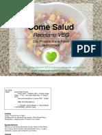 Recetario Veg Come Salud 2016