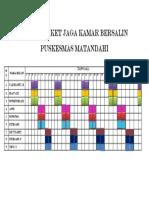 Jadwal Jaga Kamar Bersalin