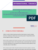 SBLC & ADVANCE PERFORMANCE GUARANTEE(APG).ppt