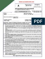 CRA Paper I(Www.allexamreview.com)