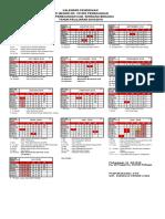 Kalender Pendidikan 2018 - 2019