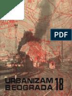 Časopis Urbanizam Beograda 18