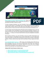 Bursa Taruhan Liverpool vs PSG 19 September 2018