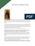 Devotion Priesthood