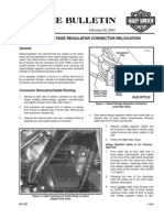 Service Bulletin M-1107 Strator Relocation