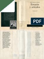 Sanchez Ferlosio, Rafael - Ensayos y Articulos Vol-II