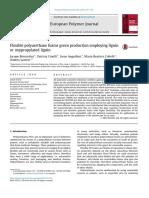 Flexible Polyurethane Foams Green Production Employing Lignin