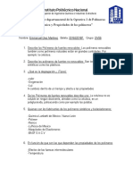 examen polimeros