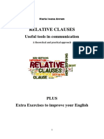 Relative Clauses- Useful tools in communication. Plus extra exercises to improve your English