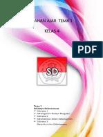 Bahan Ajar Kelas 4 Tema 1 Kurikulum 2013 Revisi