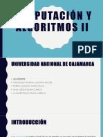 COMPUTACIÓN Y ALGORITMOS II [Autoguardado].pptx